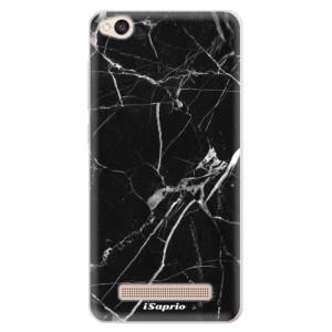 Silikonové pouzdro iSaprio (mléčně zakalené) Black Marble 18 na mobil Xiaomi Redmi 4A
