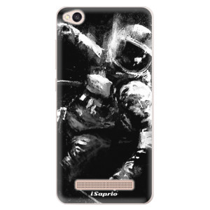 Silikonové pouzdro iSaprio (mléčně zakalené) Astronaut 02 na mobil Xiaomi Redmi 4A