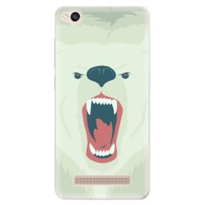 Silikonové pouzdro iSaprio (mléčně zakalené) Naštvanej Medvěd na mobil Xiaomi Redmi 4A