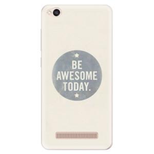 Silikonové pouzdro iSaprio (mléčně zakalené) Awesome 02 na mobil Xiaomi Redmi 4A