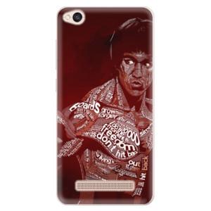 Silikonové pouzdro iSaprio (mléčně zakalené) Bruce Lee na mobil Xiaomi Redmi 4A