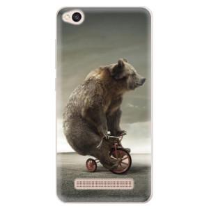 Silikonové pouzdro iSaprio (mléčně zakalené) Medvěd 01 na mobil Xiaomi Redmi 4A