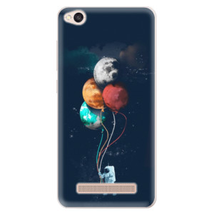 Silikonové pouzdro iSaprio (mléčně zakalené) Balónky 02 na mobil Xiaomi Redmi 4A