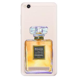 Silikonové pouzdro iSaprio (mléčně zakalené) Chanel Gold na mobil Xiaomi Redmi 4A