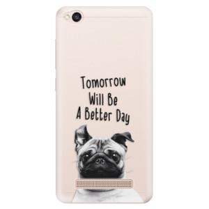 Silikonové pouzdro iSaprio (mléčně zakalené) Better Day 01 na mobil Xiaomi Redmi 4A