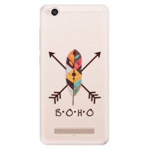 Silikonové pouzdro iSaprio (mléčně zakalené) BOHO na mobil Xiaomi Redmi 4A