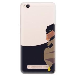 Silikonové pouzdro iSaprio (mléčně zakalené) BaT Komiks na mobil Xiaomi Redmi 4A