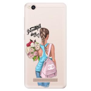 Silikonové pouzdro iSaprio (mléčně zakalené) Beautiful Day na mobil Xiaomi Redmi 4A