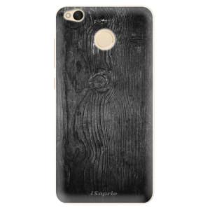 Silikonové pouzdro iSaprio (mléčně zakalené) Black Wood 13 na mobil Xiaomi Redmi 4X
