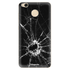 Silikonové pouzdro iSaprio (mléčně zakalené) Broken Glass 10 na mobil Xiaomi Redmi 4X