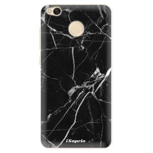 Silikonové pouzdro iSaprio (mléčně zakalené) Black Marble 18 na mobil Xiaomi Redmi 4X