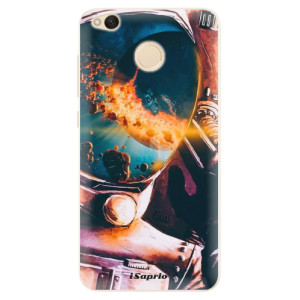 Silikonové pouzdro iSaprio (mléčně zakalené) Astronaut 01 na mobil Xiaomi Redmi 4X
