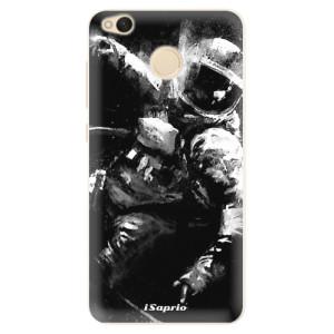 Silikonové pouzdro iSaprio (mléčně zakalené) Astronaut 02 na mobil Xiaomi Redmi 4X