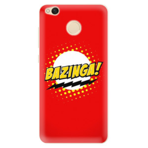 Silikonové pouzdro iSaprio (mléčně zakalené) Bazinga 01 na mobil Xiaomi Redmi 4X