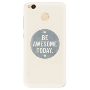 Silikonové pouzdro iSaprio (mléčně zakalené) Awesome 02 na mobil Xiaomi Redmi 4X