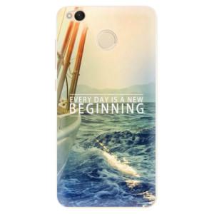 Silikonové pouzdro iSaprio (mléčně zakalené) Beginning na mobil Xiaomi Redmi 4X