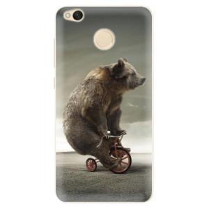 Silikonové pouzdro iSaprio (mléčně zakalené) Medvěd 01 na mobil Xiaomi Redmi 4X