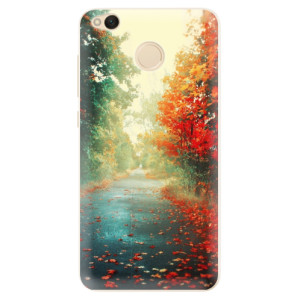 Silikonové pouzdro iSaprio (mléčně zakalené) Podzim 03 na mobil Xiaomi Redmi 4X