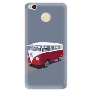 Silikonové pouzdro iSaprio (mléčně zakalené) VW Bus na mobil Xiaomi Redmi 4X