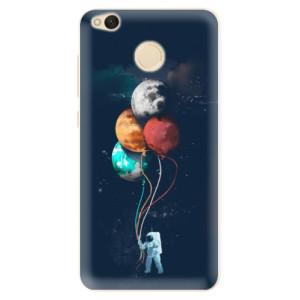 Silikonové pouzdro iSaprio (mléčně zakalené) Balónky 02 na mobil Xiaomi Redmi 4X