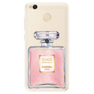 Silikonové pouzdro iSaprio (mléčně zakalené) Chanel Rose na mobil Xiaomi Redmi 4X