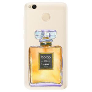 Silikonové pouzdro iSaprio (mléčně zakalené) Chanel Gold na mobil Xiaomi Redmi 4X