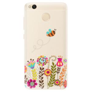Silikonové pouzdro iSaprio (mléčně zakalené) Včelka Pája 01 na mobil Xiaomi Redmi 4X