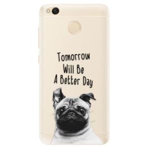 Silikonové pouzdro iSaprio (mléčně zakalené) Better Day 01 na mobil Xiaomi Redmi 4X