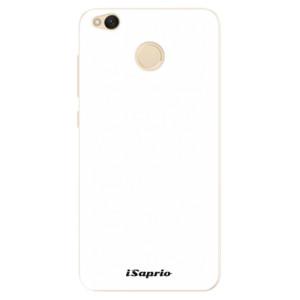 Silikonové pouzdro iSaprio 4Pure bílé na mobil Xiaomi Redmi 4X