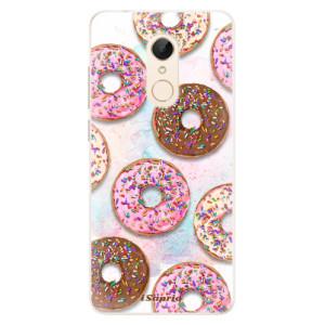 Silikonové pouzdro iSaprio (mléčně zakalené) Donutky Všude 11 na mobil Xiaomi Redmi 5