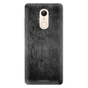 Silikonové pouzdro iSaprio (mléčně zakalené) Black Wood 13 na mobil Xiaomi Redmi 5