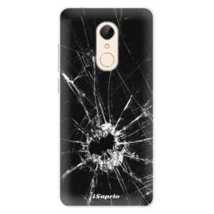 Silikonové pouzdro iSaprio (mléčně zakalené) Broken Glass 10 na mobil Xiaomi Redmi 5