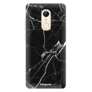 Silikonové pouzdro iSaprio (mléčně zakalené) Black Marble 18 na mobil Xiaomi Redmi 5