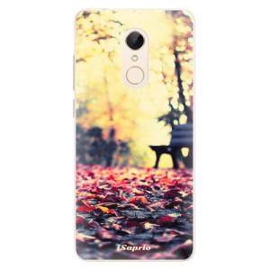Silikonové pouzdro iSaprio (mléčně zakalené) Bench 01 na mobil Xiaomi Redmi 5