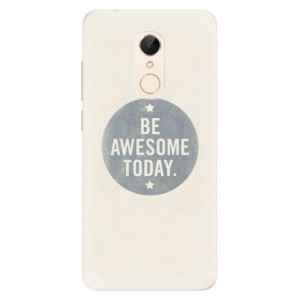 Silikonové pouzdro iSaprio (mléčně zakalené) Awesome 02 na mobil Xiaomi Redmi 5