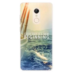 Silikonové pouzdro iSaprio (mléčně zakalené) Beginning na mobil Xiaomi Redmi 5