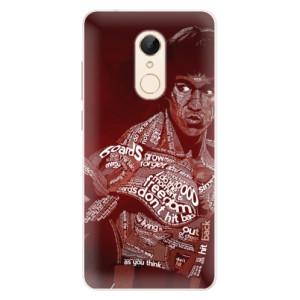 Silikonové pouzdro iSaprio (mléčně zakalené) Bruce Lee na mobil Xiaomi Redmi 5