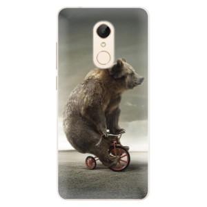 Silikonové pouzdro iSaprio (mléčně zakalené) Medvěd 01 na mobil Xiaomi Redmi 5