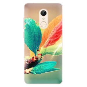 Silikonové pouzdro iSaprio (mléčně zakalené) Podzim 02 na mobil Xiaomi Redmi 5