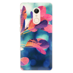 Silikonové pouzdro iSaprio (mléčně zakalené) Podzim 01 na mobil Xiaomi Redmi 5