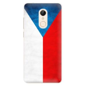 Silikonové pouzdro iSaprio (mléčně zakalené) Česká Vlajka na mobil Xiaomi Redmi 5
