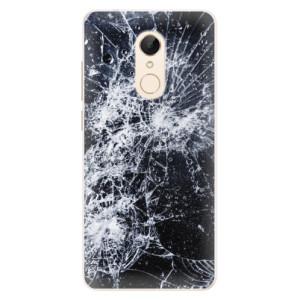 Silikonové pouzdro iSaprio (mléčně zakalené) Praskliny na mobil Xiaomi Redmi 5