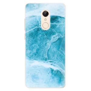 Silikonové pouzdro iSaprio (mléčně zakalené) Blue Marble na mobil Xiaomi Redmi 5