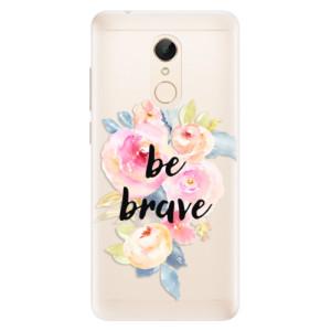Silikonové pouzdro iSaprio (mléčně zakalené) Be Brave na mobil Xiaomi Redmi 5