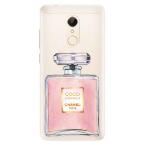 Silikonové pouzdro iSaprio (mléčně zakalené) Chanel Rose na mobil Xiaomi Redmi 5