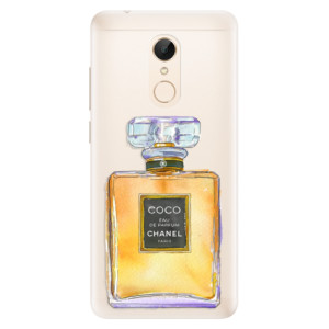 Silikonové pouzdro iSaprio (mléčně zakalené) Chanel Gold na mobil Xiaomi Redmi 5