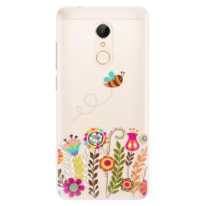Silikonové pouzdro iSaprio (mléčně zakalené) Včelka Pája 01 na mobil Xiaomi Redmi 5