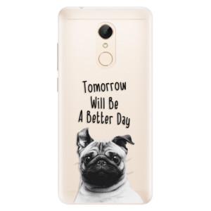 Silikonové pouzdro iSaprio (mléčně zakalené) Better Day 01 na mobil Xiaomi Redmi 5