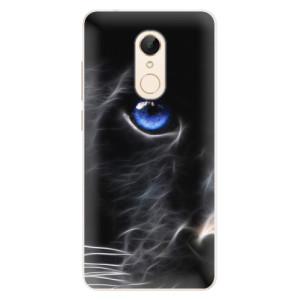 Silikonové pouzdro iSaprio (mléčně zakalené) Black Puma na mobil Xiaomi Redmi 5