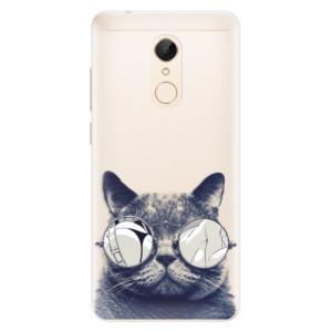 Silikonové pouzdro iSaprio (mléčně zakalené) Šílená Číča 01 na mobil Xiaomi Redmi 5